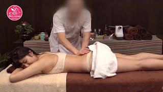 Massage body   Beautiful girl oil body massage reflexology compilation #01 ✔