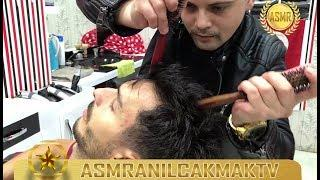 ASMR TURKISH BARBER MASSAGE(Razor Hair Cut, Shoulder Massage, Neck Massage, Head Massage)