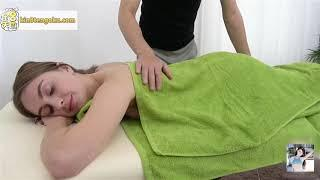 Abdominal massage . Japan massage. Massage relaxing muscle private shiatsu  按摩 theraphy
