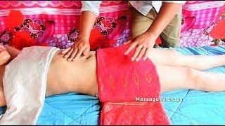 Abdominal Massage Reduce Fat Belly & Loss Weight - Traditional Massage Technique