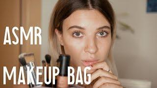 I TRIED ASMR FOR THE FIRST TIME/ MAKEUP BAG, BRUSHING, TAPPING