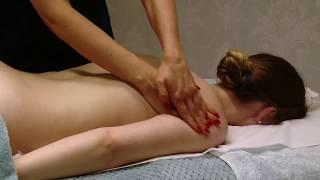 Massage Therapy Full Body Basic Swedish Back Massage Techniques - Relaxing Step by Step Guide
