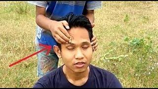 The Great Ina Head Massage | VERY RELAXING |MUSH WATCH