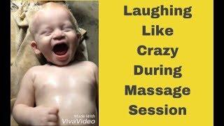 Baby massage reaction |NRA|
