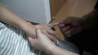 Hand Massage for Woman