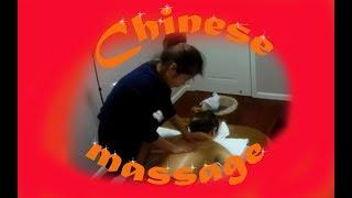 Chinese massage. Oil treatment for relaxing. MV 134