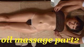 ASMR Relaxing Body Massage with Oil | oil massage which makes you feel relax| 全身按摩