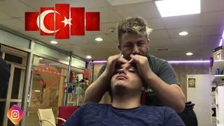 ASMR = turkish barber massage = ARM-FACE-BACK-HEAD MASSAGE= kafa-sırt-kol-yüz masaj'ı=SLEEP MASSAGE