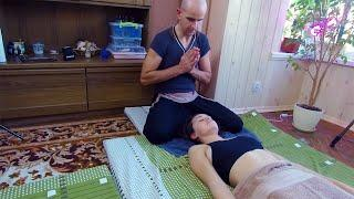 Beautiful Thai head and neck massage