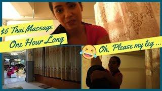 [Massage Diary] $6 Thai Massage For One Hour Long service ASMR
