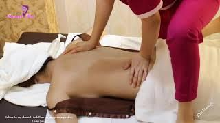 Magical Massage Relieving Stress Back Massage Techniques Relaxing Muscle Pain   Amazing Thai Massage