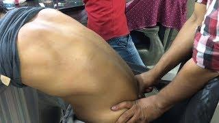 ASMR Indian Barber Relaxing Head Massage With Special Back Massage By (Khursheed Aalam)