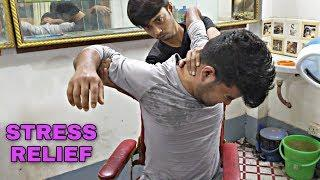 Mind stress free massage for ultimate Relaxation | indian Salon ASMR