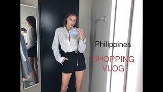 ФИЛИППИНЫ | пробный SHOPPING VLOG | Mango, H&M Guess