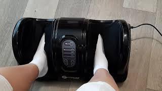 210: D Массажер для ног с персональным режимом Foot Massage Plus FITSTUDIO (черный)
