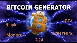 Bitcoin Generator - Earn 0.2 - 1 Bitcoin