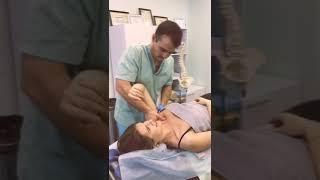 Сеанс остеопатии кинезиологии мануальной терапии