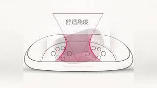Многофункциональный массажер Подушка Шейный Поясничный 6d разминающий Электрический Вибрационный Ши