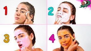 Тоник, скраб, крем, маска для лица из молока. Глубокое очищение кожи лица в 4 этапа