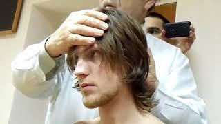 Массаж волосистой части головы  Часть первая