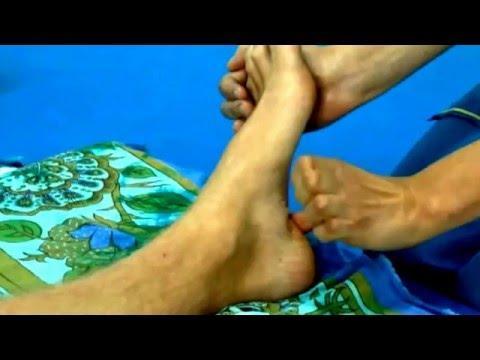 Тайский массаж стоп. Thai Foot Massage