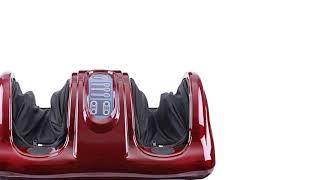 220 В Электрический нагревательный массажер для ног и тела Шиацу, разминающий валик, вибратор,