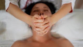 Лимфодренажный массаж лица. Как убрать отеки и подтянуть овал лица. Айгерим Жумадилова