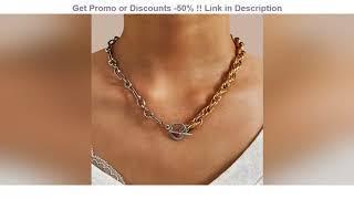 Best Seller 17KM модное ожерелье с подвеской в виде звезды замок для женщин винтажное толстое масси