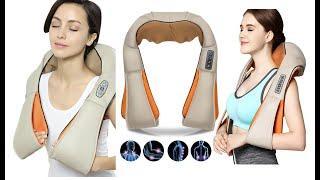 Массажер для спины и шеи отзывы, Обзор Электрический массажер спины , цена, купить