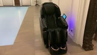 Массажное кресла Osari Pantera видео у клиента дома установка в бассейне
