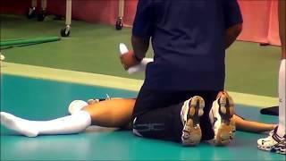 Winifer Fernandez Massage. Массаж самой сексуальной волейболистке