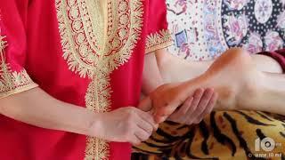 Аюрведический йога массаж стоп  Как делать правильный массаж стоп  Ayurvedic yoga massage feet1