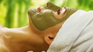 Сильнейшая маска из зеленого чая от купероза  и отеков.