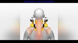 Big Discount Электрический массажный платок для шеи шиацу разминающий массажер для шеи плеч спины т