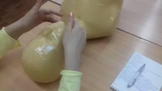Классический массаж лица, обучение, 5 часть