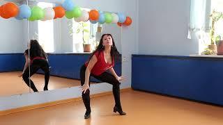 """Студия танцев и вокала. Юлия Маколкина. Танец """"Солдаты любви"""". Урок №2."""