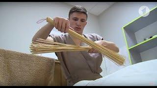 А вы пробовали массаж бамбуковыми вениками? / Утренний эфир