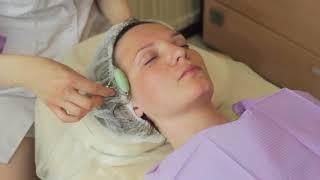 Лимфодренажный массаж с уходом лица