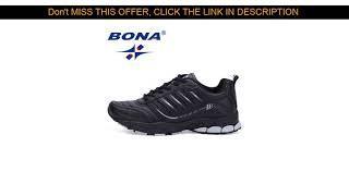 Deal Bona Новые самых популярных Стиль Для мужчин Кроссовки для бега прогулочная Спортивная обувь у