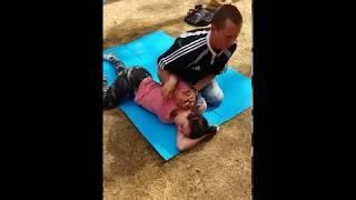 проработка плечевого сустава Тайский Йога-массаж