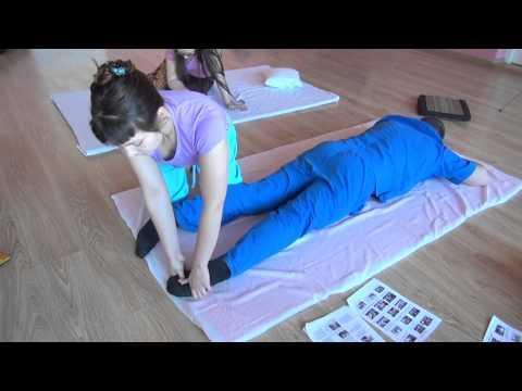 Тайский массаж для задней поверхности ног