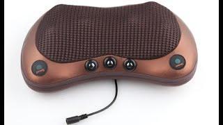Ортопедическая подушка массажная вибратор для разминания и инфракрасной терапии шеи на Алиэкспресс